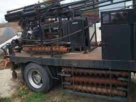 CME55, CME 55, cat head, auger, drill rig, environmental